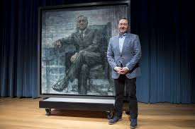 the national portrait gallery now has a painting of frank