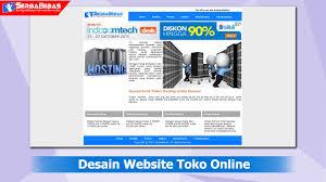 tutorial membuat web html sederhana cara membuat desain website toko online sederhana menggunakan bahasa