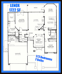 Lenox Floor Plan Sun City Palm Desert Floor Plans Houses