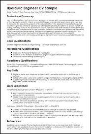 Sample Of Engineering Resume by Hydraulic Engineer Cv Sample Myperfectcv