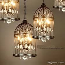 Vintage Wrought Iron Chandeliers American Ault Do The Vintage Wrought Iron Chandelier Bird Cage