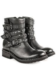 black biker boots ash tatoo biker boot black