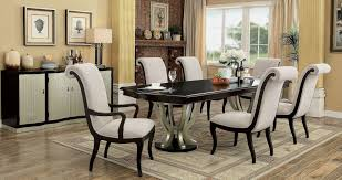 ornette espresso extendable rectangular dining table from