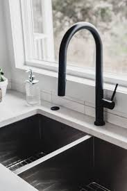 kitchen cabinet sink faucets modern olive green kitchen before after lemon thistle