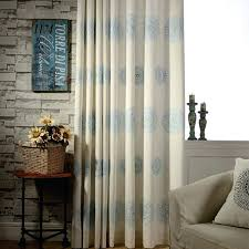 Blue And Brown Curtains Brown And Blue Curtains Teawing Co