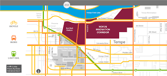 Phoenix International Airport Map by Vision Novus Innovation Corridor