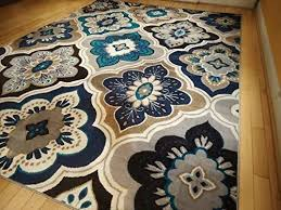 Blue Brown Area Rugs Large Beautiful Area Rugs On A Budget 150 Arts And