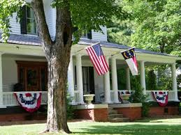 Fourth Of July Door Decorations 130 Best 4th Of July House Images On Pinterest July 4th Porch