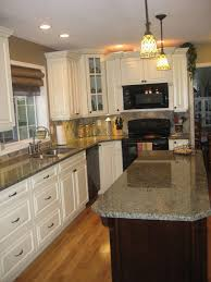 white kitchen cabinets with black island kitchen antique white kitchen cabinets square black wooden