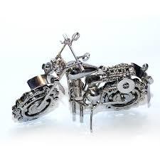 harley davidson motorcycle bike model metal art