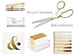 gold desk accessories target kate spade acrylic lucite and gold desk accessories 4 new