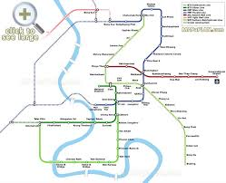 bangkok map tourist attractions bangkok maps top tourist attractions free printable city