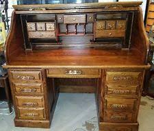 Oak Crest Desk Roll Top Desks Ebay
