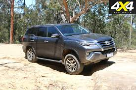 toyota fortuner crusade review 4x4 australia