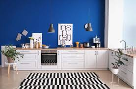 is sherwin williams white a choice for kitchen cabinets 25 of the best blue paint color options for kitchens home