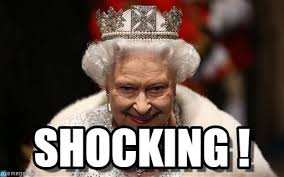 Shocking Meme - shocking queen meme on memegen