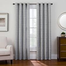 Alton Solid Grommet Window Curtain Panel Buy Black Grommet Panel From Bed Bath U0026 Beyond