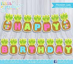 Printable Hawaiian Decorations Printable Hawaiian Birthday 100 Images Tiki Birthday Bash