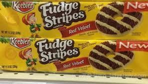 review keebler red velvet fudge stripes cookies the impulsive buy
