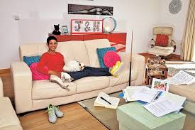 in the livingroom my naga munchetty the strictly and breakfast host