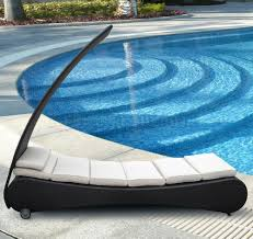 Sun Lounge Chair Design Ideas Delicate Pool Lounge Chaise Design Ideas Performing Black Wicker