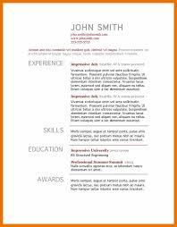 Resume Builder For Mac Free Resume Template Download For Mac Resume Template And