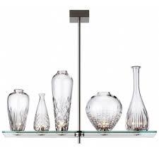 Designer Island Lighting 17 1 Wide 5 Light Etched Glass Vase Designer Island Lighting