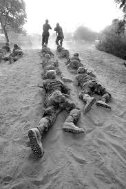 Lackland Air Force Base Map Photo Of U S Air Force Basic Trainees Low Crawling Lackland Air