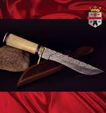 072f hunting knife damascus kingforge high carbon steel 072f hunting knife special edition kingforge