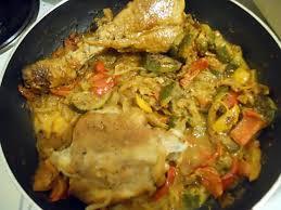cuisine cuisse de dinde recette de cuisse de dinde a la basquaise