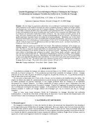 article vinaigre pdf