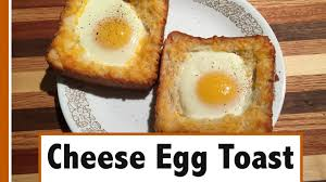 How To Make Grilled Cheese In A Toaster Oven Cheese Egg Toast Easy Breakfast How To Youtube