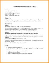 Resume Sample Format Singapore by Internship Resume Template Internship Resume Sample Financial