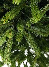 9 foot king fir shape artificial tree unlit trees