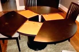 expanding circular dining table expanding round table round table fabulous round dining room table
