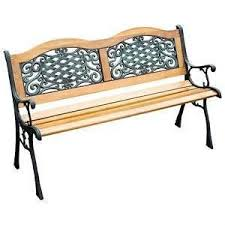 How To Build A Garden Bench With A Back Cast Iron Bench Ebay