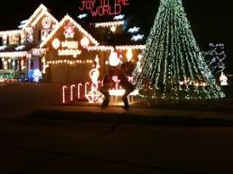 christmas light show house music omaha la vista house with christmas lights to music video las