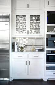 Glass Cabinet Kitchen Doors Kitchen Glass Cabinets Amicidellamusica Info