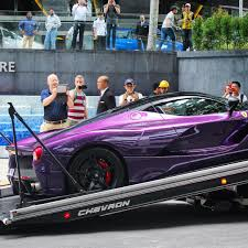 purple ferrari f12 by the numbers
