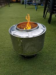 Washing Machine Firepit Portable Pit Rocky Mountain Overland