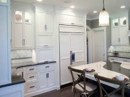 Transitional White Kitchen - transitional kitchen cabinets excellent design 25 hardware for