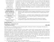 Coordinator Resume Objective Resume Objective Samples 16 Good Objectives Examples Job