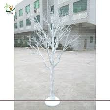 uvg dtr13 6ft artificial white dried tree decoration for and