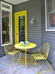 Yellow Patio Chairs Photo Page Hgtv