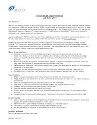 Sales Representative Job Description Resume by Responsibilities Of A Sales Representative Resume Resume For