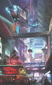 futuristic architecture future city cityscapes concept art