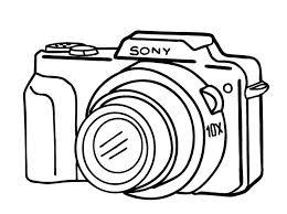 camera sketch clipart clip art library