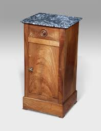 marble top bedside table french pot cupboard walnut pot cupoard bedside table marble top