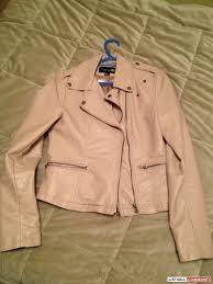 light pink blazer forever 21 forever 21 faux leather jacket in light pink salsabelle777
