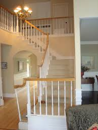 How To Refinish A Banister Removing Carpet And Installing Hardwood On Stairs Refinishing